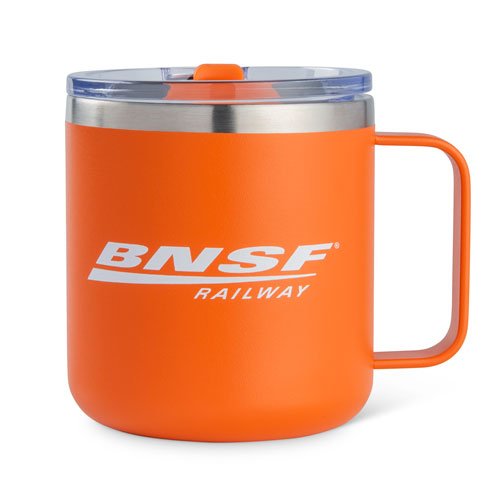 BNSF Insulated Stainless Camper Mug