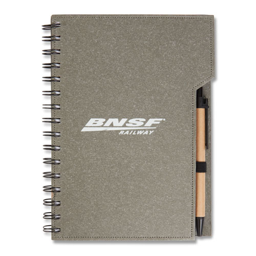 Inspire Spiral Notebook with Pen and Sticky Flags
