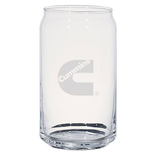 Can-Shaped Ale Glass