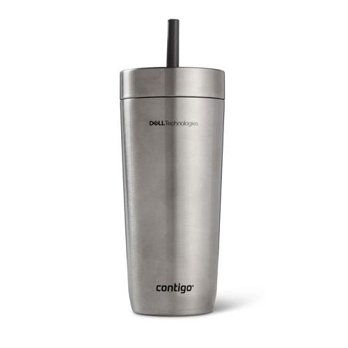 Dell Technologies Contigo Luxe Spill-Proof Tumbler, 18 oz.