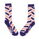 FedEx Racing Chevron-Print Athletic Socks