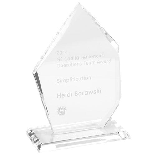 Freestanding Crystal Summit Award