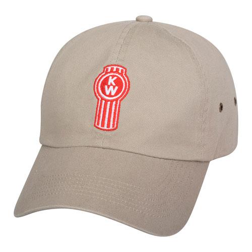 Khaki Low Crown Cap