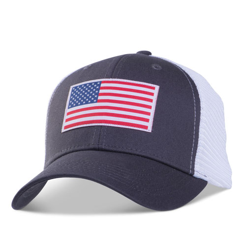 Flag Fitted Mesh Cap
