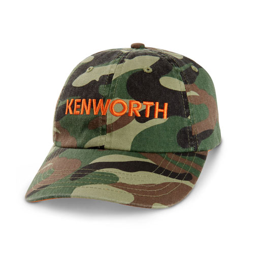 Youth Camo Stuctured Hat