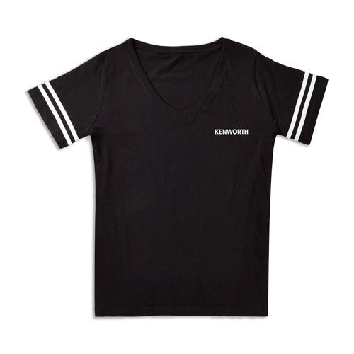 Ladies' Plus-Size Curvy Football Shirt