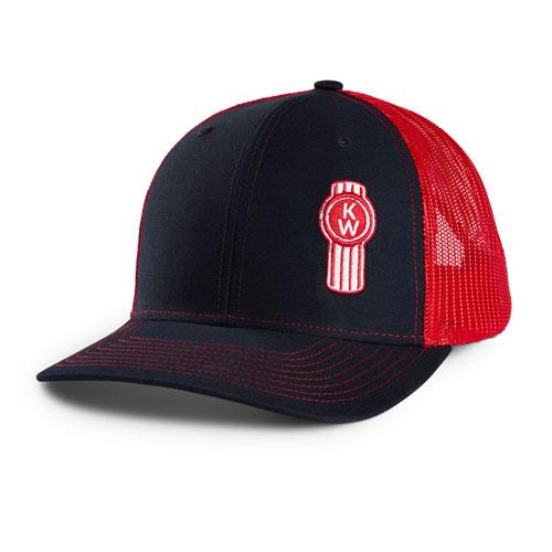 Richardson Cap - Navy/Red
