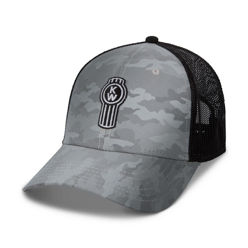 Reflective Camo Mesh Hat