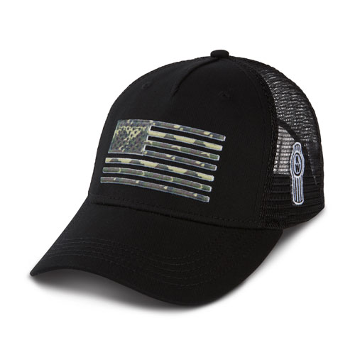 Camo Flag Mesh Hat