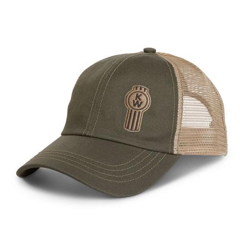 Offset Bug Mesh Cap