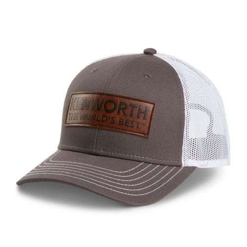 Faux Leather Patch Cap