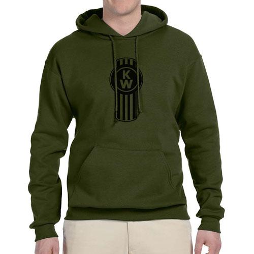 Fleece Pullover Hoodie – Green