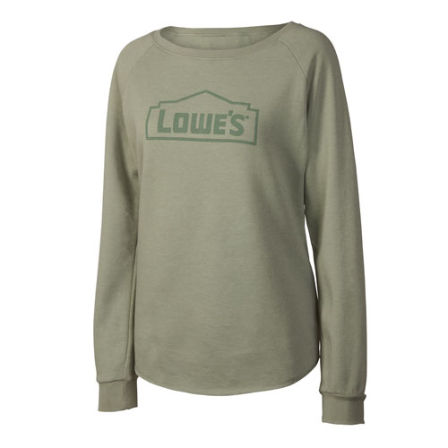 Women's Wave-Washed Crew Neck