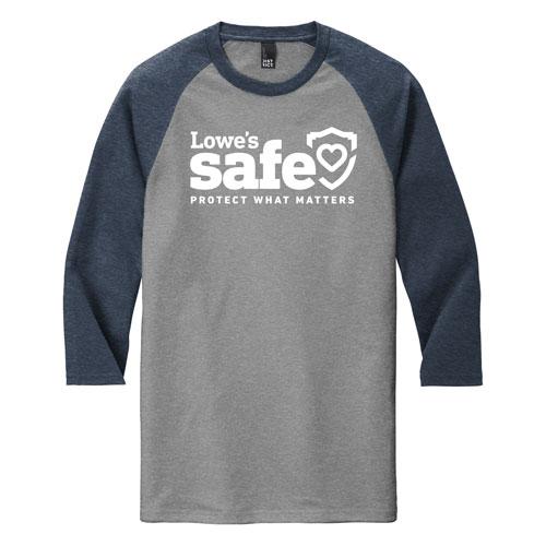 Safe District ® Raglan T-shirt