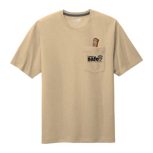 Safe Plank Pocket T-shirt