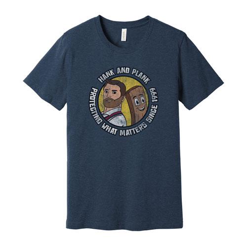 Safe Hank & Plank T-shirt