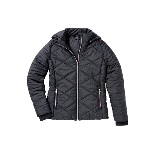 Womens quilted nylon jacket