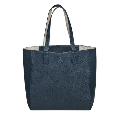 Glam Shopper Tote - BLUE