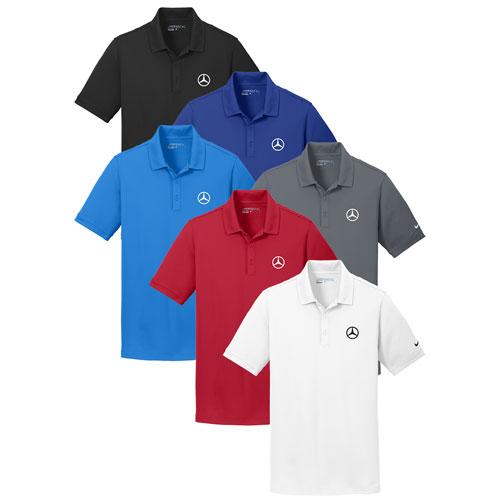 Men's Nike Pique Polo - RED