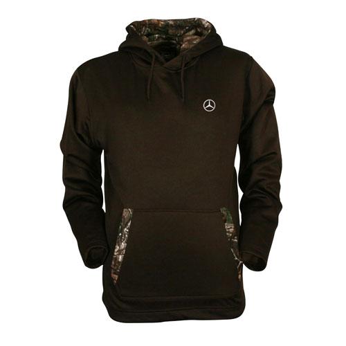 MER Performance camo fleece hoodie (AMWM417 BR) Multi-Colored XS