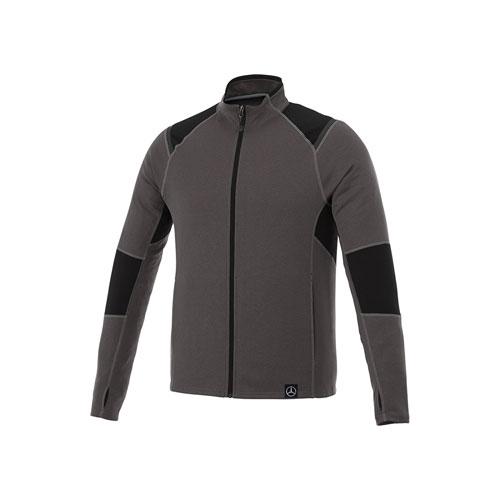 Men's Melange Knit Jacket