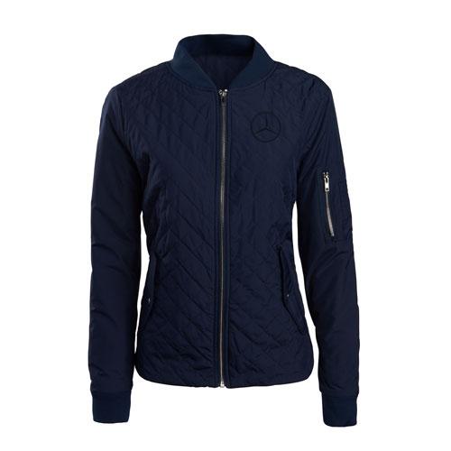 Women's Quilted Flight Jacket