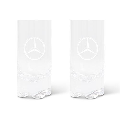 12oz Crystal Hiball Glass Set of 2