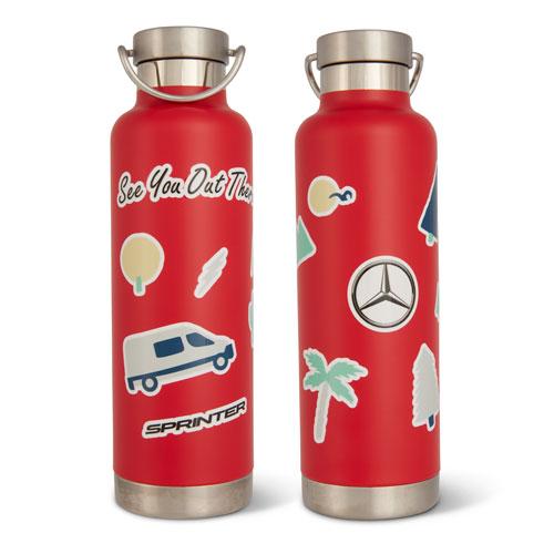 Sprinter Sticker Water Bottle