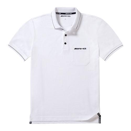 Men's AMG Pique Cotton Polo