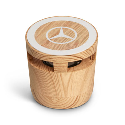Woodgrain Bluetooth Speaker and Wireless Charger