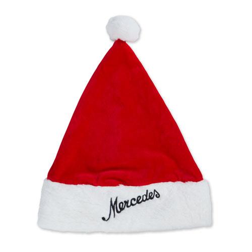 Script Faux Fur Santa Hat