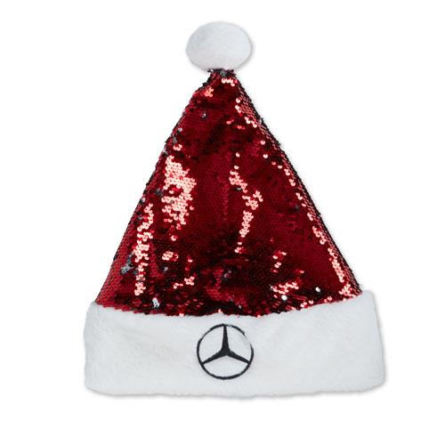 Star Sequin Santa Hat
