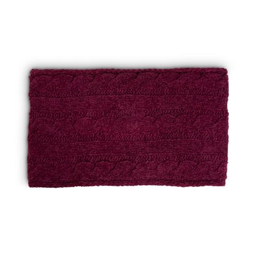 Script Knit Scarf