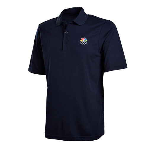 Peacock and Rings Men's Performance Polo