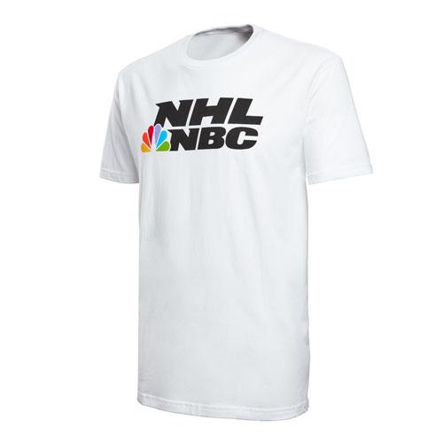 NHL on NBC White Tee