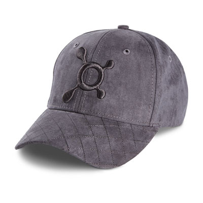 SUEDE QUILTED HAT