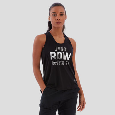 JUST ROW WITH IT FLOW TANK