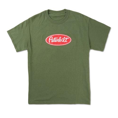 Heavyweight Military Green T-shirt