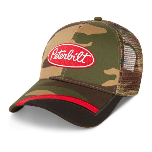 Sideswipe Camo Mesh Hat