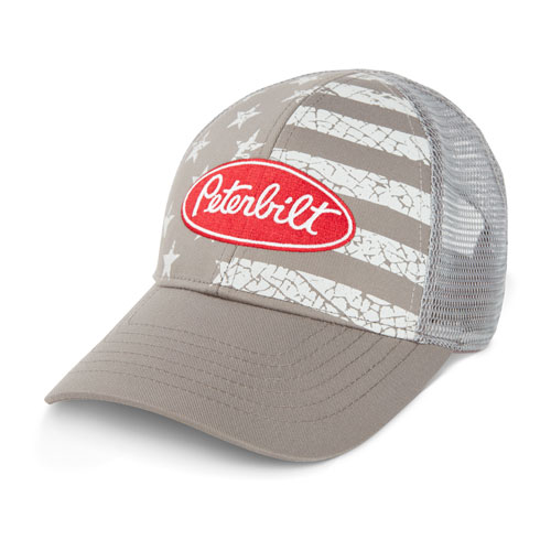 Youth Distressed Flag Mesh Hat