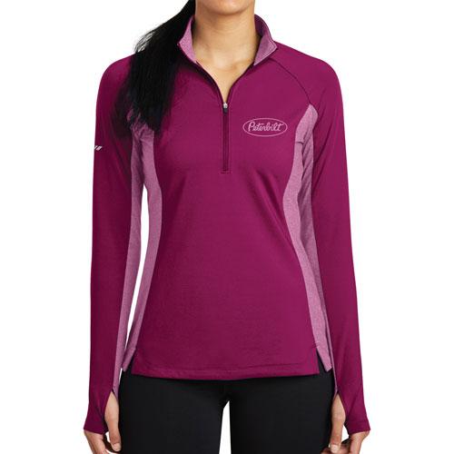 Ladies' Sport-Wick® Stretch Pullover