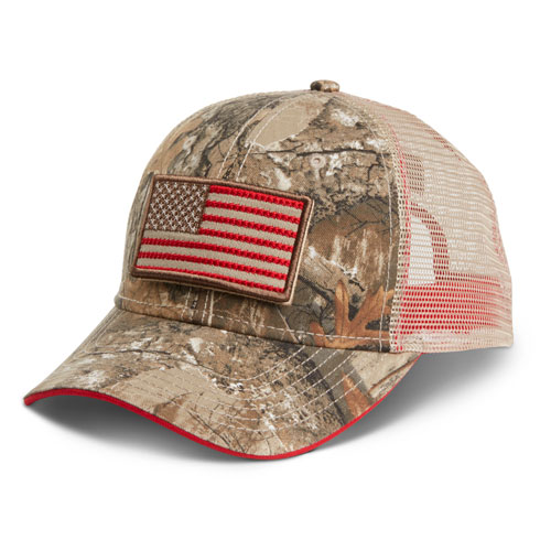 Realtree® Camo Mesh Cap with Removable Patches