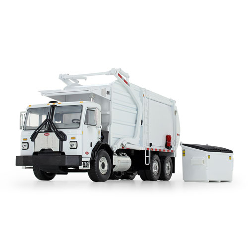 1:34 Scale 520 with Front End Load Refuse White