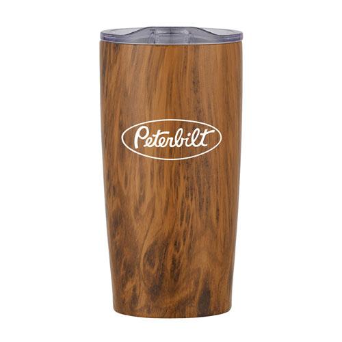18 oz. Woodgrain Thermal Tumbler