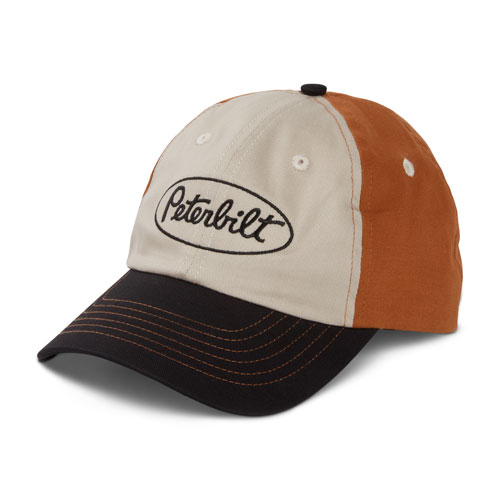 Tri Color Sanded Twill Hat
