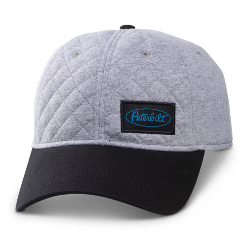 Quilted Front Unstructured Hat