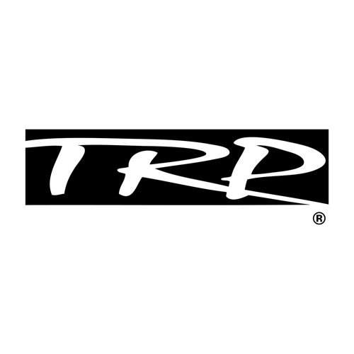 "TRP Custom Molded 1"" Rectangular Silver Lapel Pin"
