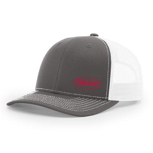 Richardson Classic Trucker Hat Charcoal White