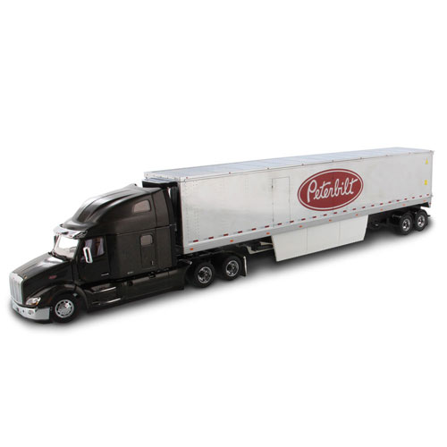 1:50 Scale 579 Ultraloft with Refrigerated Van - Silver