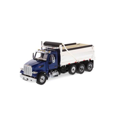 1:50 Scale 567 Dump Truck - Blue
